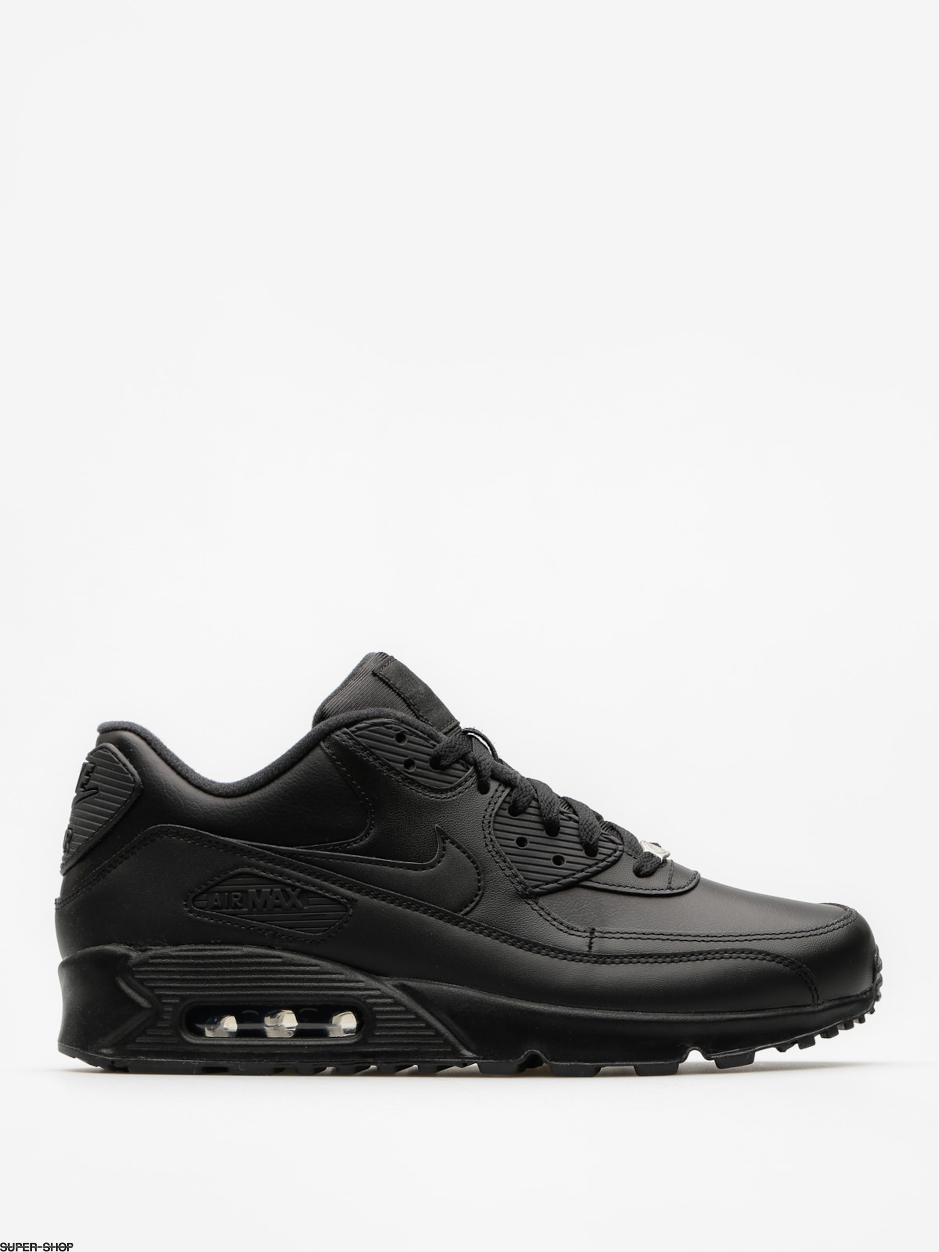 Nike Schuhe Air Max 90 Leather (black/black)