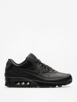 Nike Air Max 90 Shoes (Leather black/black)