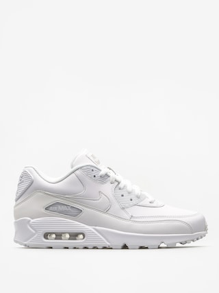 Nike Air Max 90 Shoes (Leather white/white)