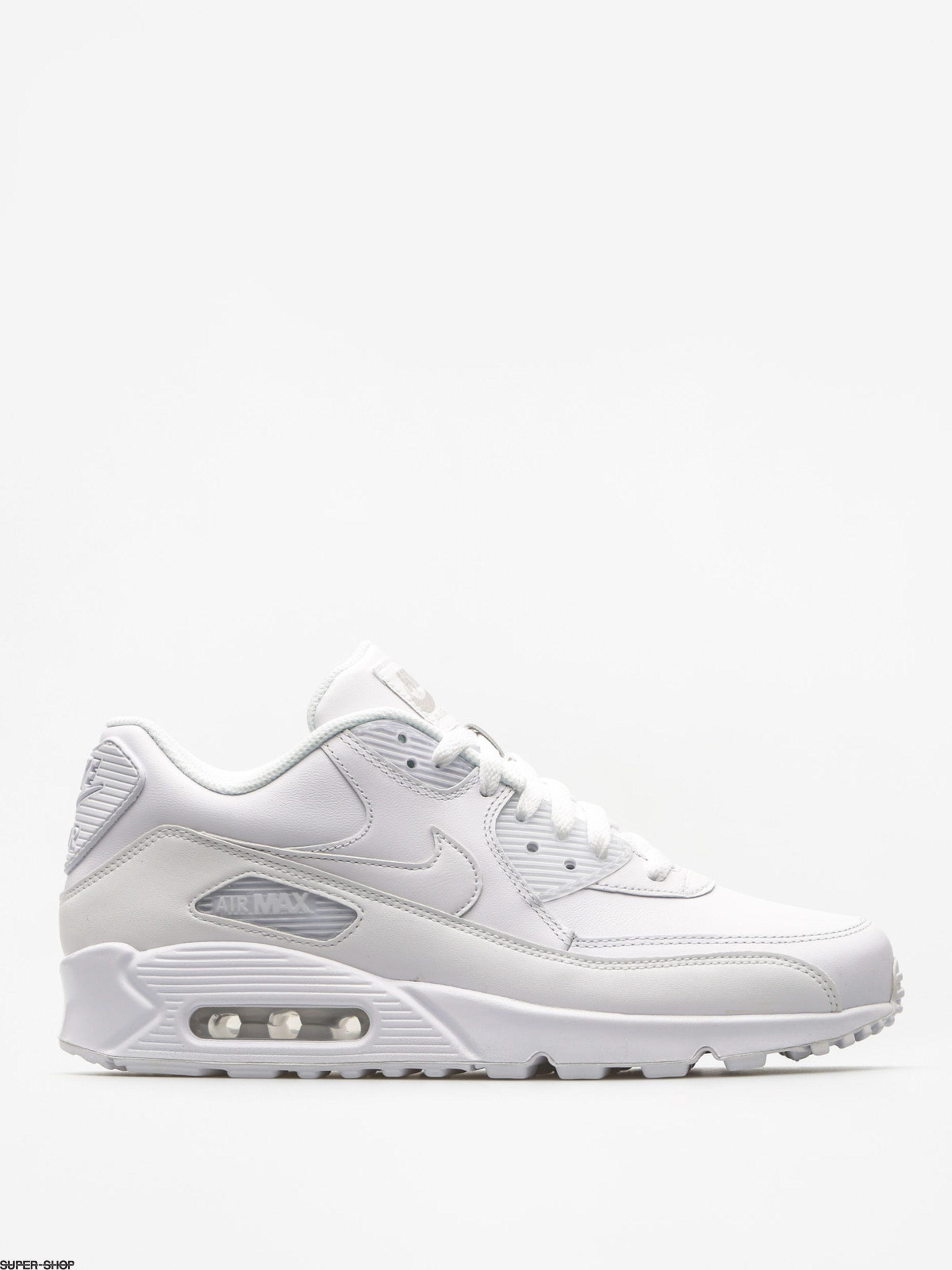 White Air Max 90 Shoes.
