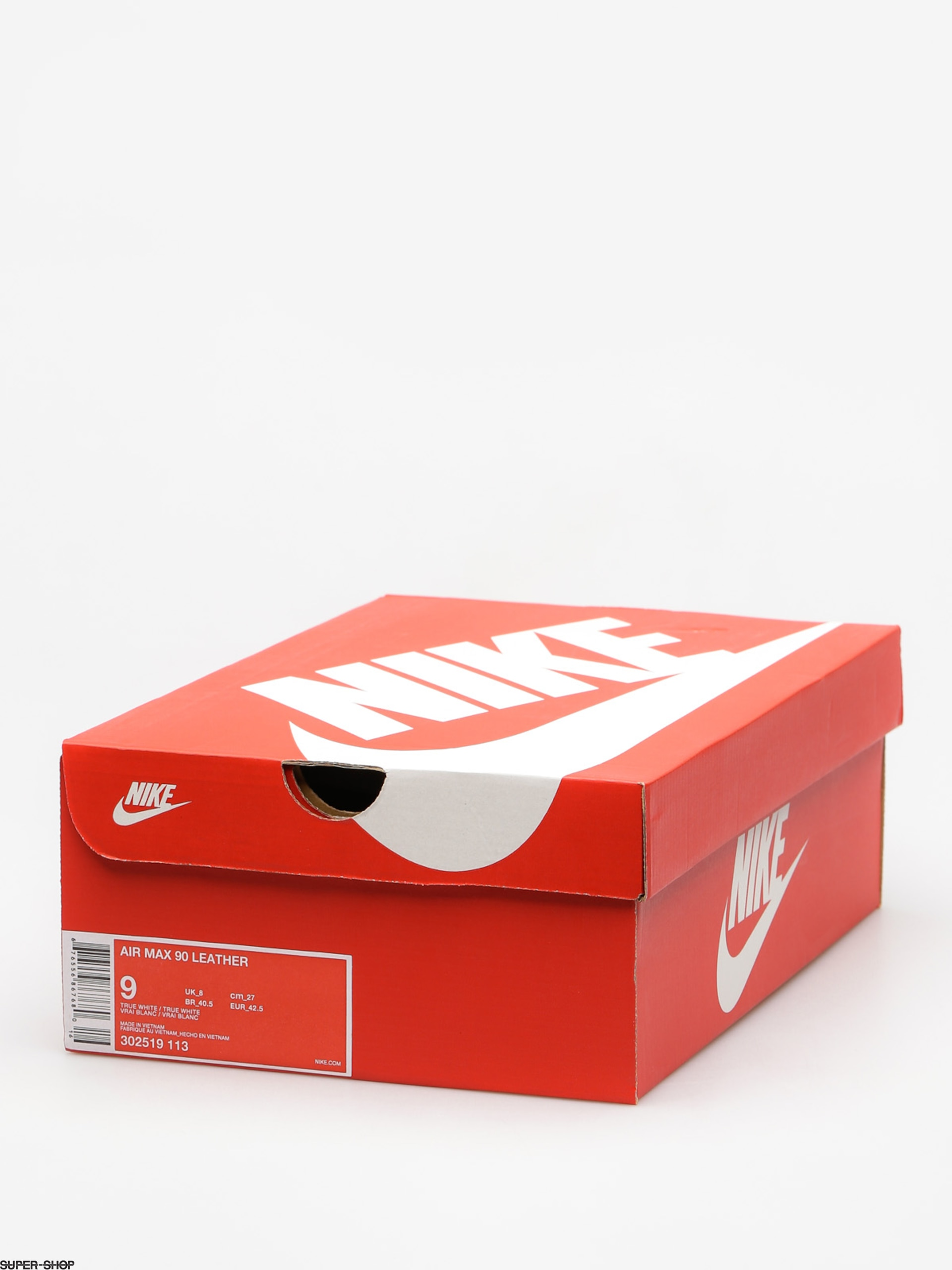 Nike Air Max 90 Shoes (Leather whitewhite)