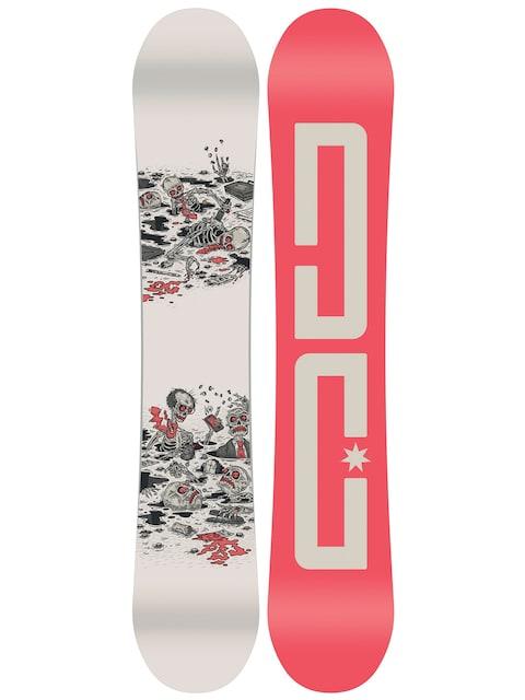 DC Snowboard Pbj (red/creme)