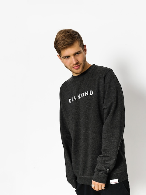 Diamond Supply Co. Sweatshirt Futura Crew Neck (charcoal heather)