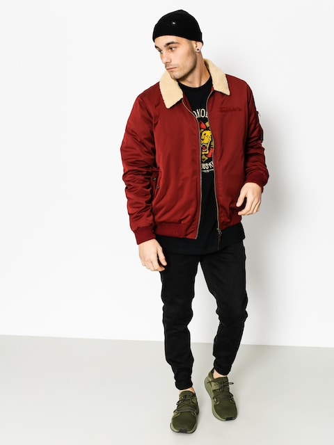 Turbokolor Jacket Bomber (burgundy)