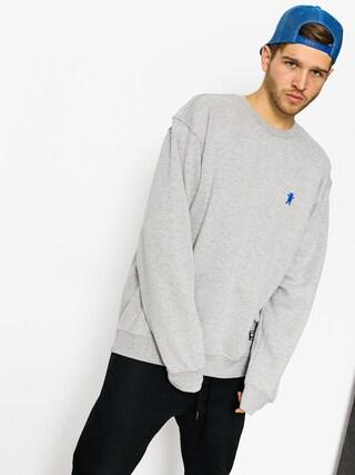 Grizzly Griptape Sweatshirt Og Bear Embroidered Crewneck (heather grey)