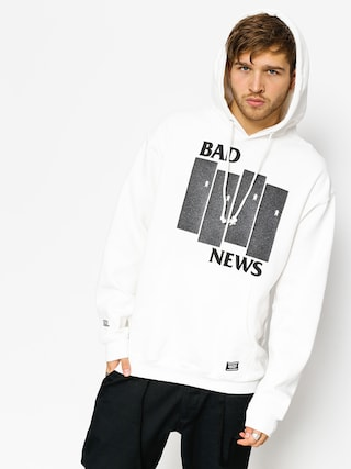 Grizzly Griptape Hoodie Bad Flag HD (white)