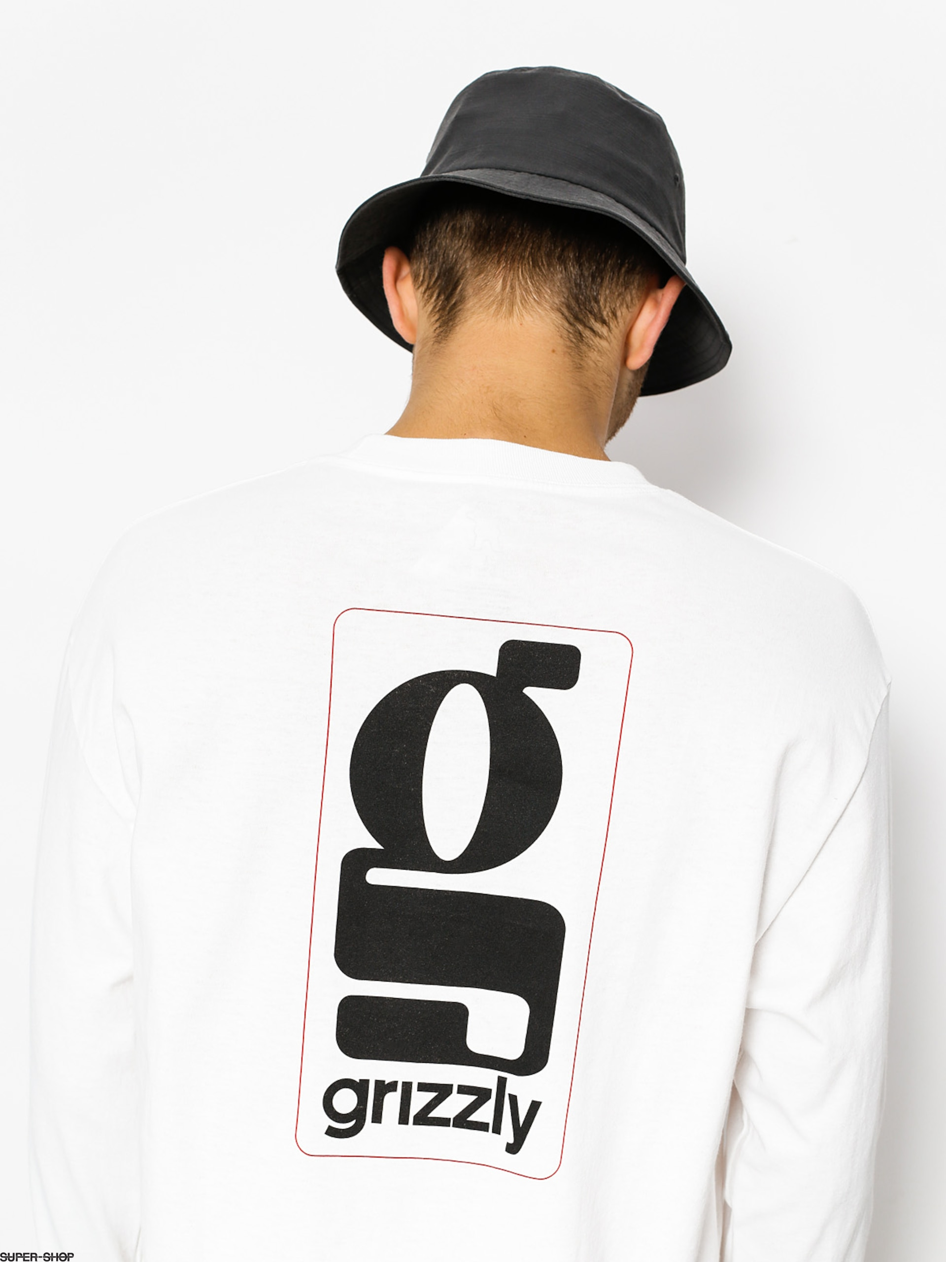 Grizzly Griptape Longsleeve Gentlemans (white)