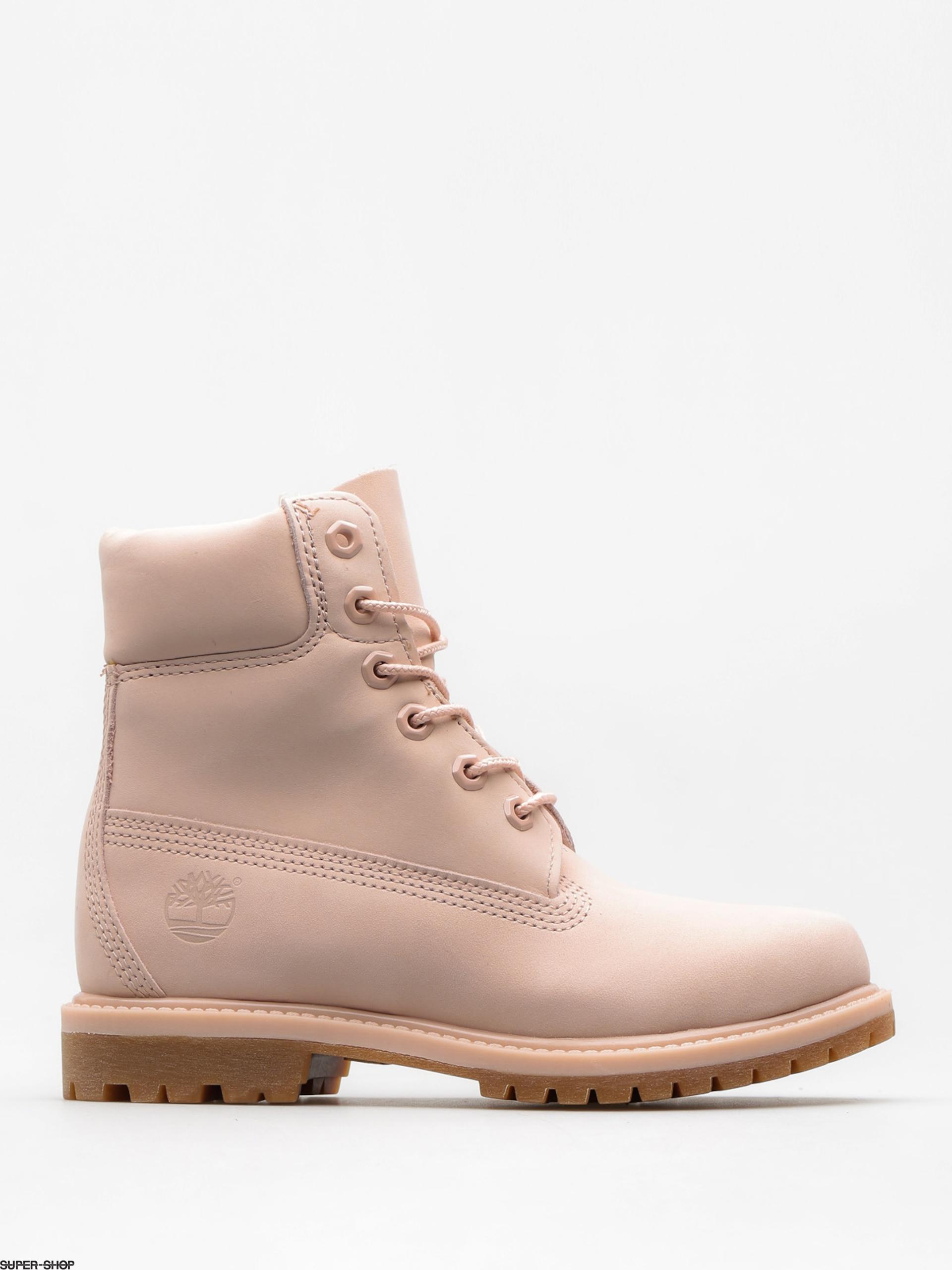 Timberland In nubuck Premium pink 6 Wmnlight Schuhe ikuPXZ