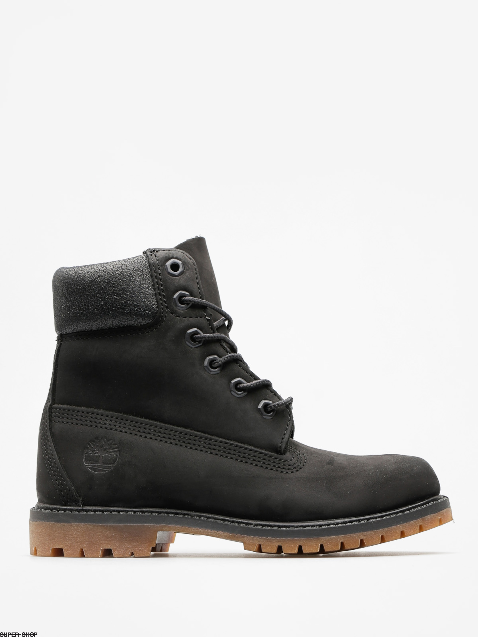 Timberland Shoes 6 In Premium Wmn (black nubuck)