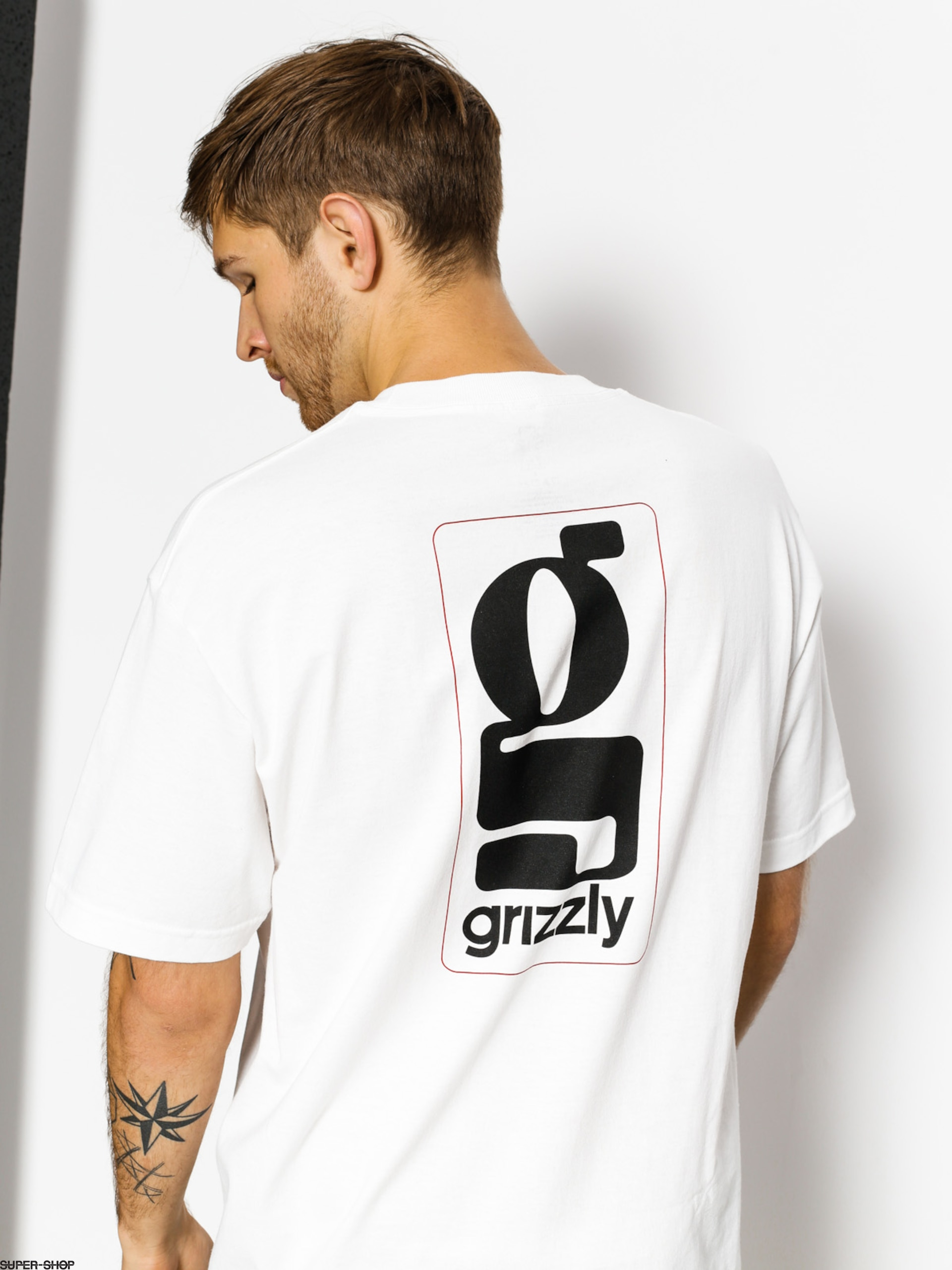 Grizzly Griptape T-shirt Gentlemans (white)