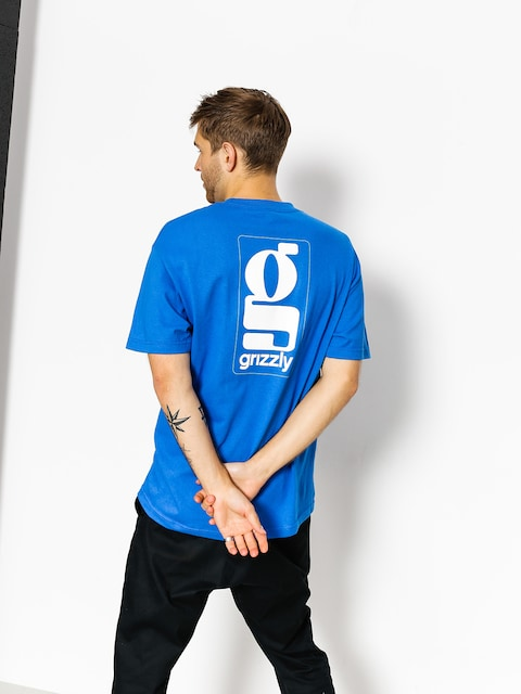 Grizzly Griptape T-shirt Gentlemans (royal blue)