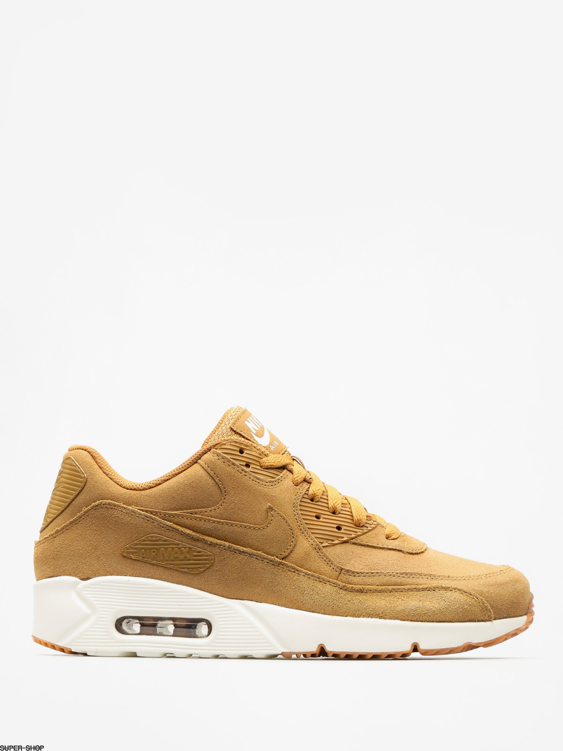 Nike Shoes Air Max 90 (Ultra 2.0 Ltr flax/flax sail gum med brown)