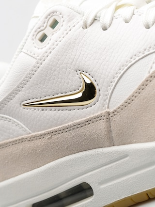 Nike Shoes Air Max 1 Premium SC Wmn (summit white/mtlc gold star light bone)