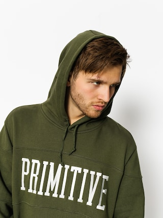 Primitive Hoodie League Piped HD (drkolv)