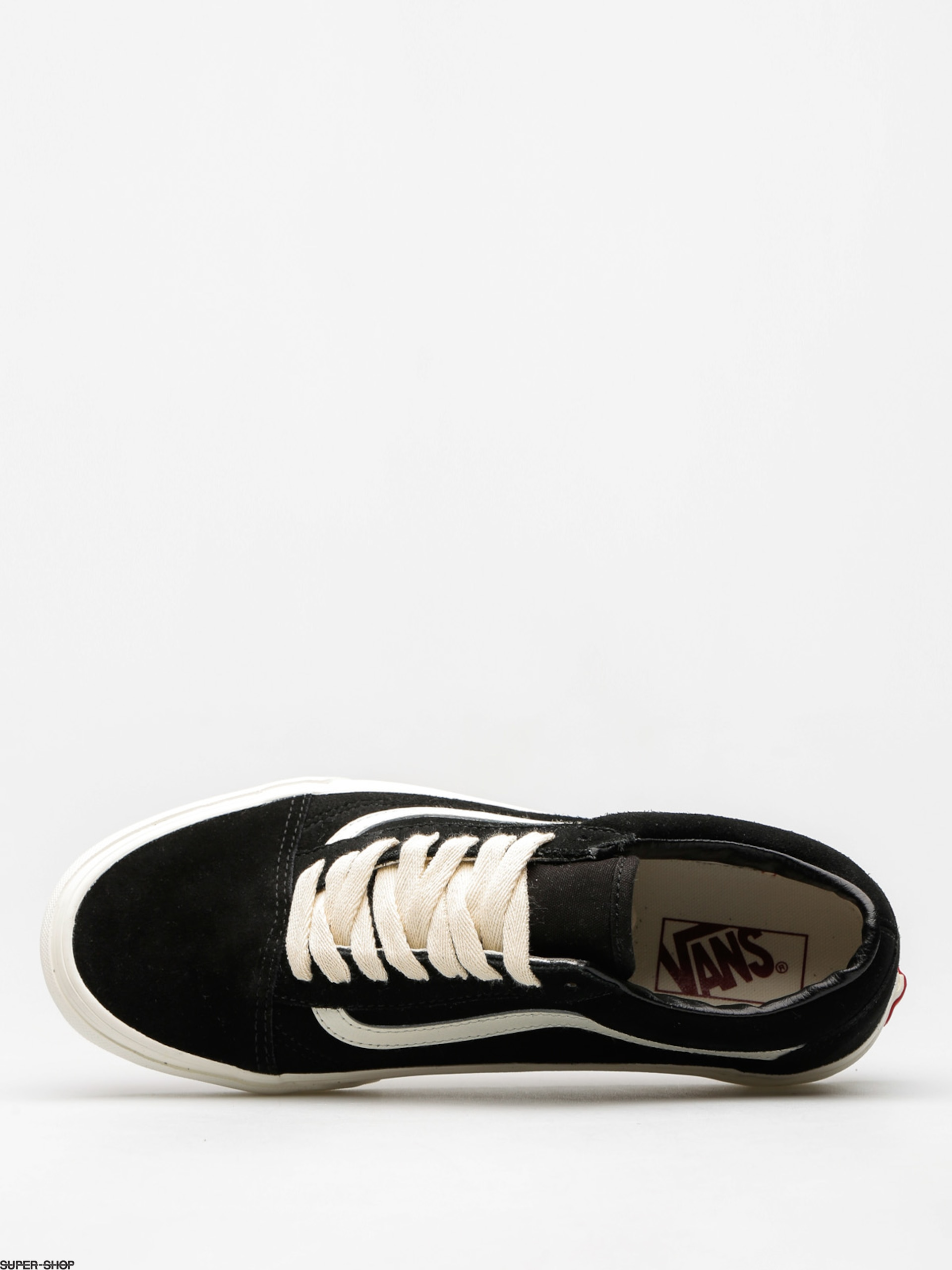 vans old skool herringbone lace black