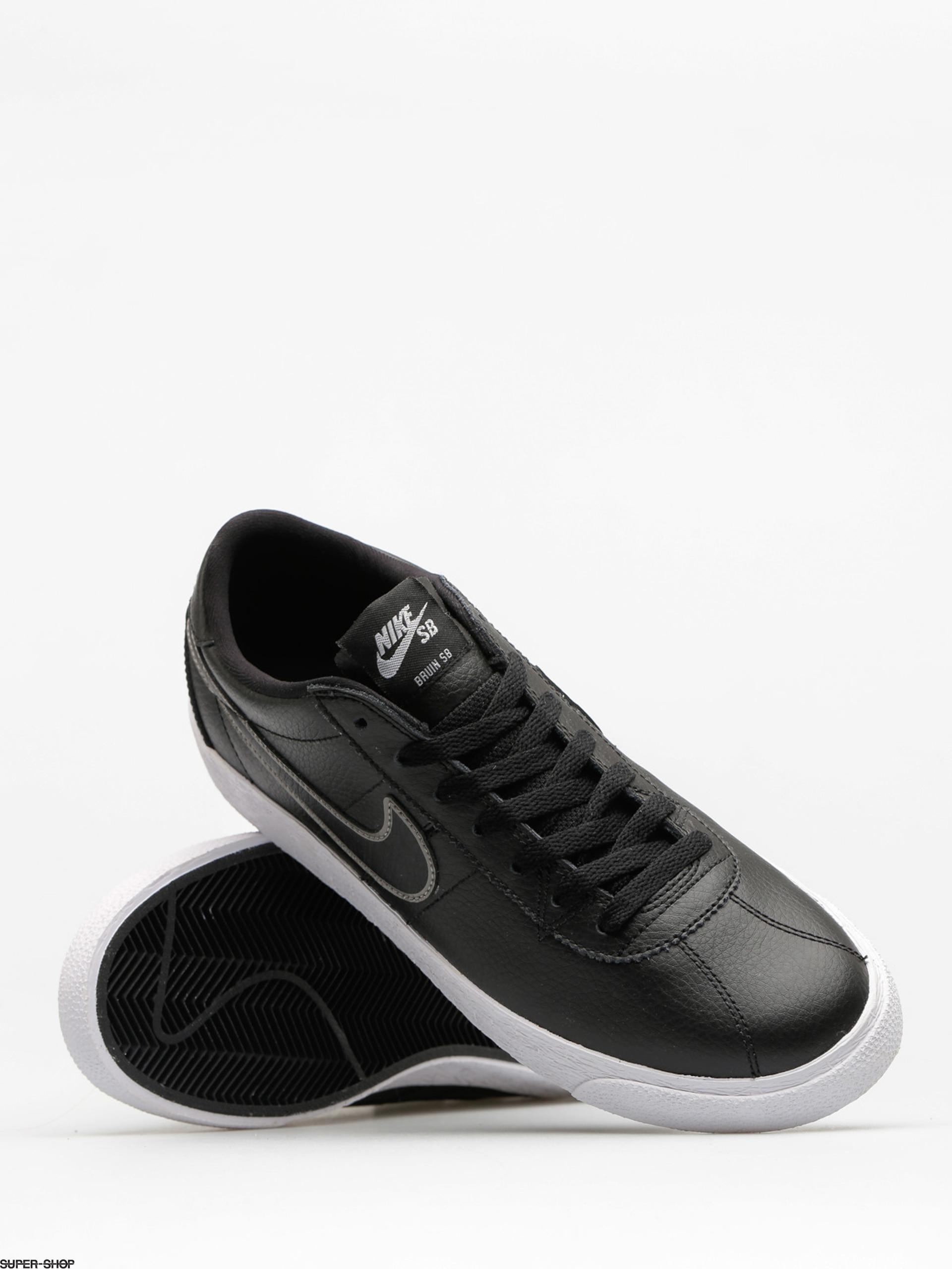 Calígrafo Edición Inconsciente  Nike SB Shoes Zoom Bruin Premium Se (black/black mtlc pewter)