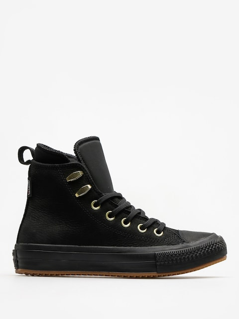Converse Chucks Chuck Taylor WP Boot Hi Wmn (black/black/brass)