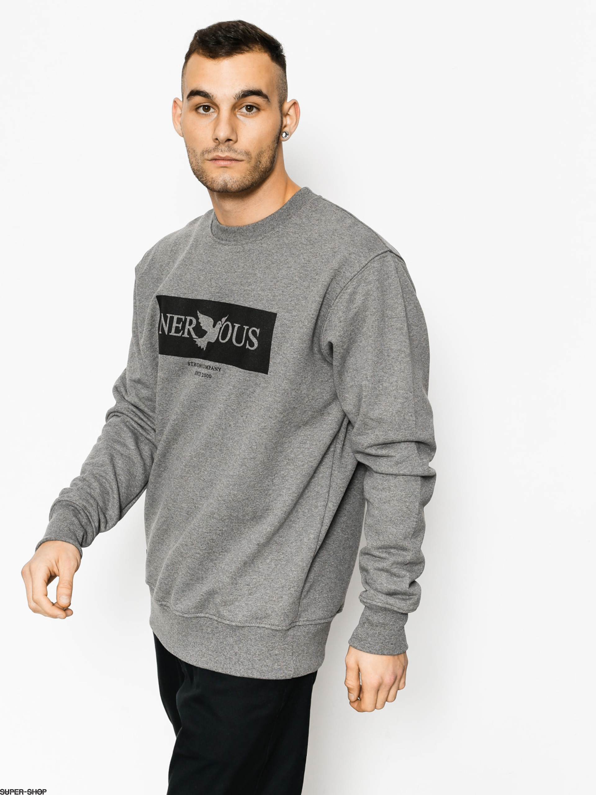 Nervous Sweatshirt Brand Box (grey)