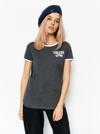 Volcom T-shirt Lets Go Ringer Wmn (blk)