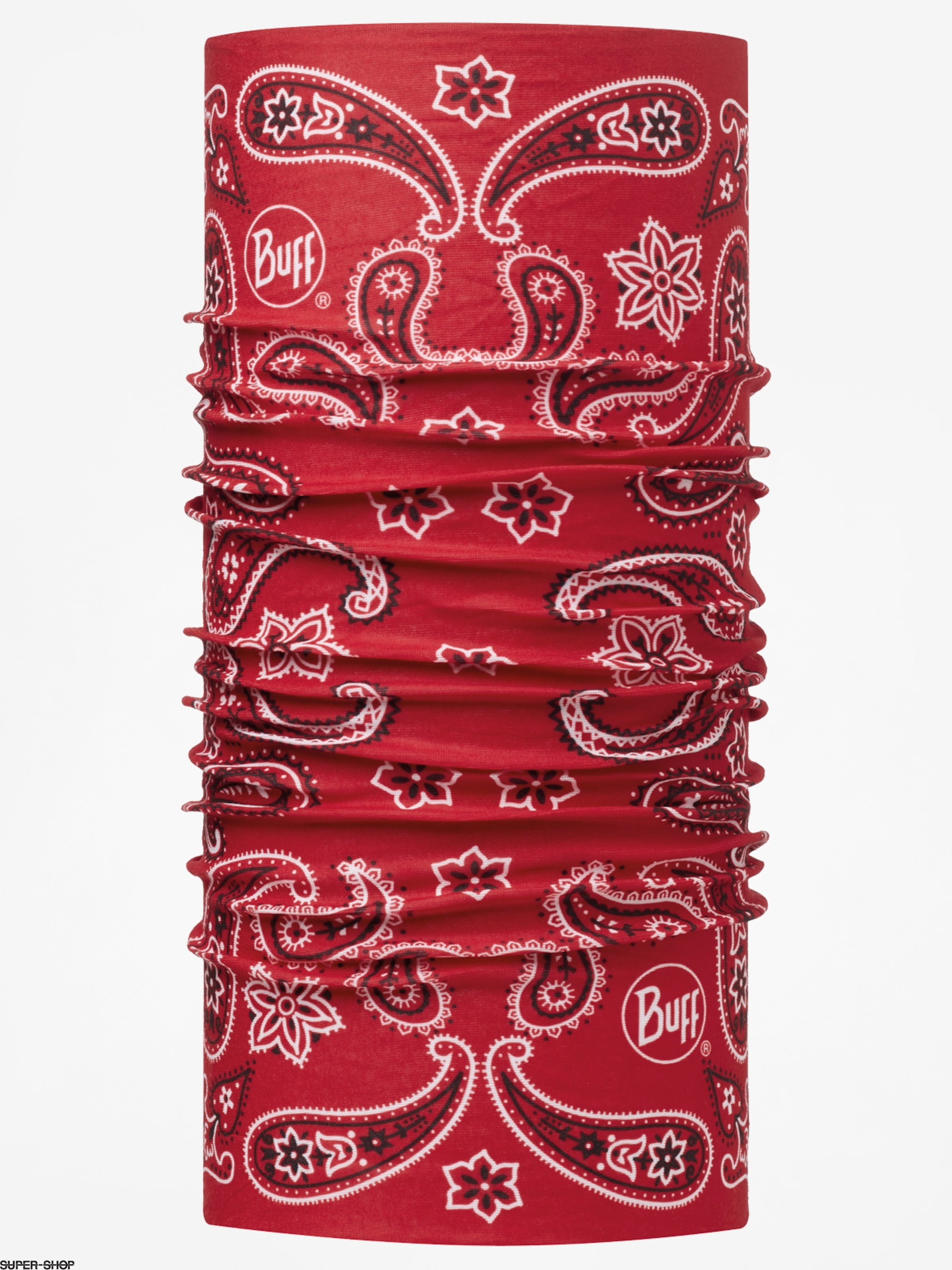 Buff Bandana Original (cashmere red)