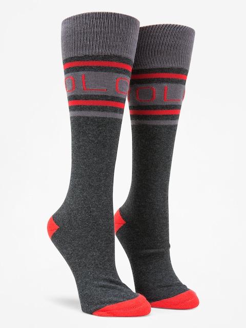 Volcom Socks Hawk Wmn (blk)