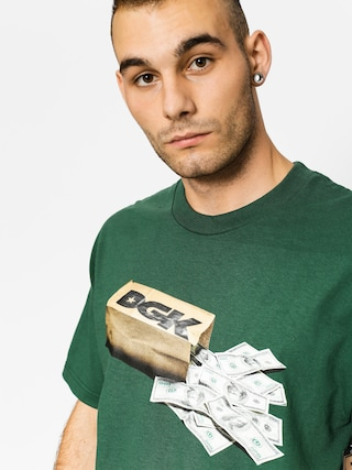 DGK T-shirt Money Bag (forest green)