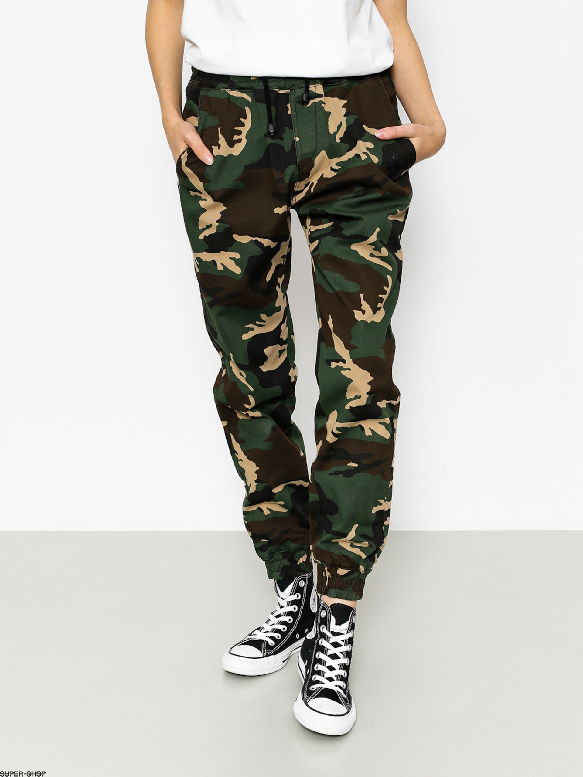 Diamante Wear Pants Jogger Classic (woodland camo)