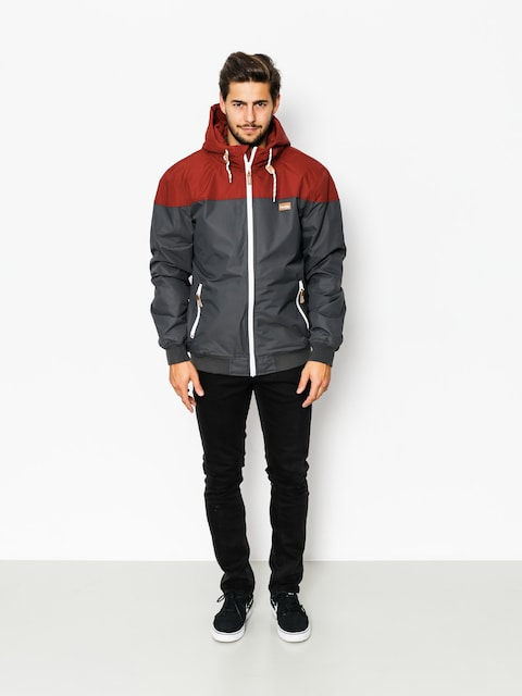 Iriedaily Jacket Insulaner (anthra red)