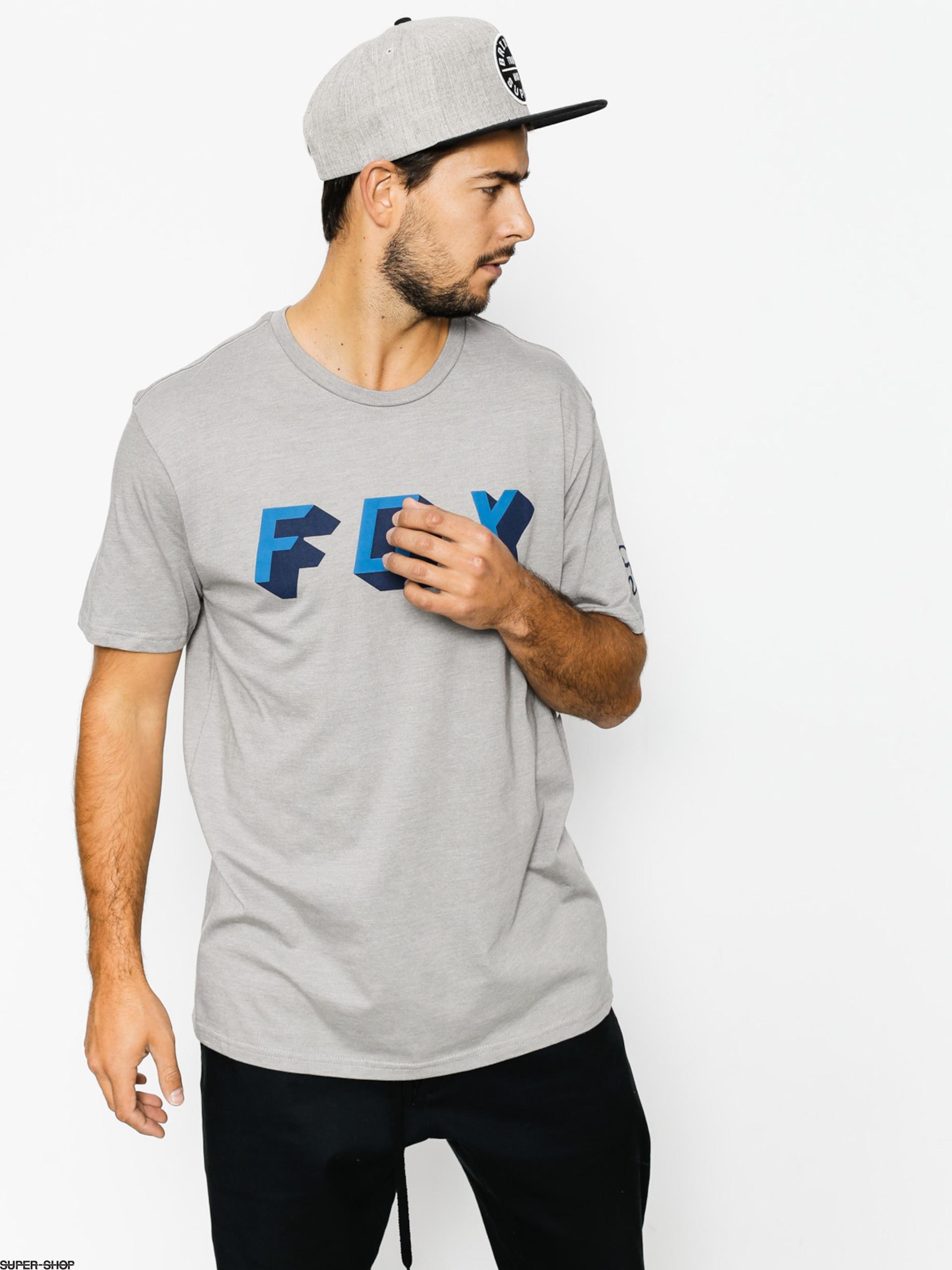 New Fox Men's Barred Short Sleeve Premium Tee