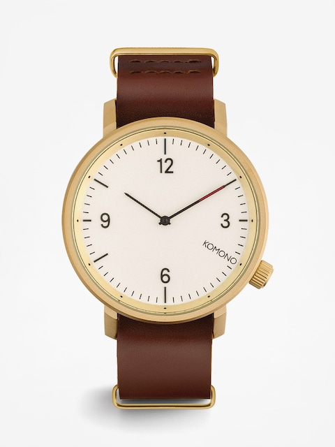 Komono Uhr Magnus II (saddle brown)