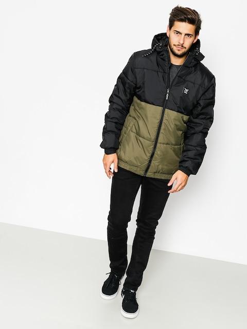 Iriedaily Jacket Stagger Hood (black olive)