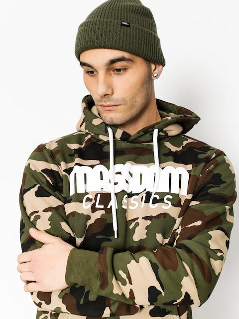 MassDnm Hoodie Classics HD (woodland camo)