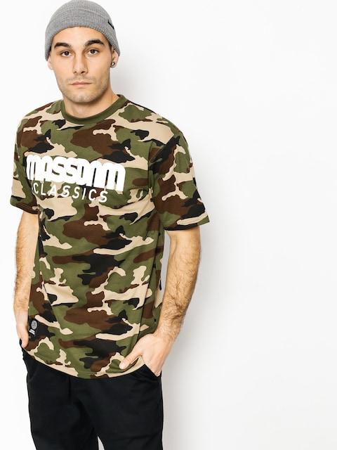 MassDnm T-Shirt Classicss (woodland camo)