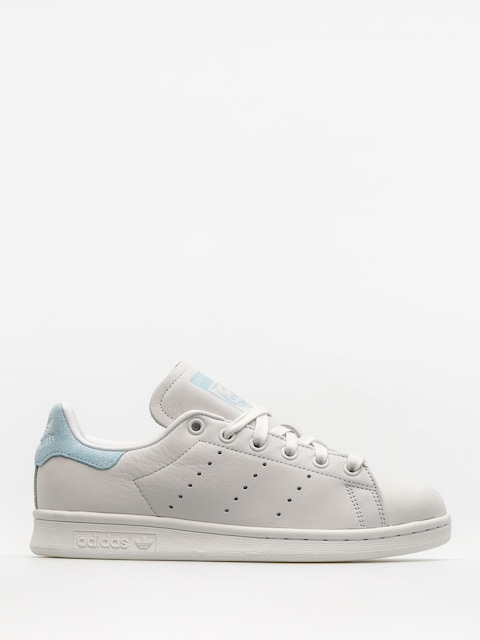 adidas Shoes Stan Smith Wmn (crywht/crywht/iceblu)