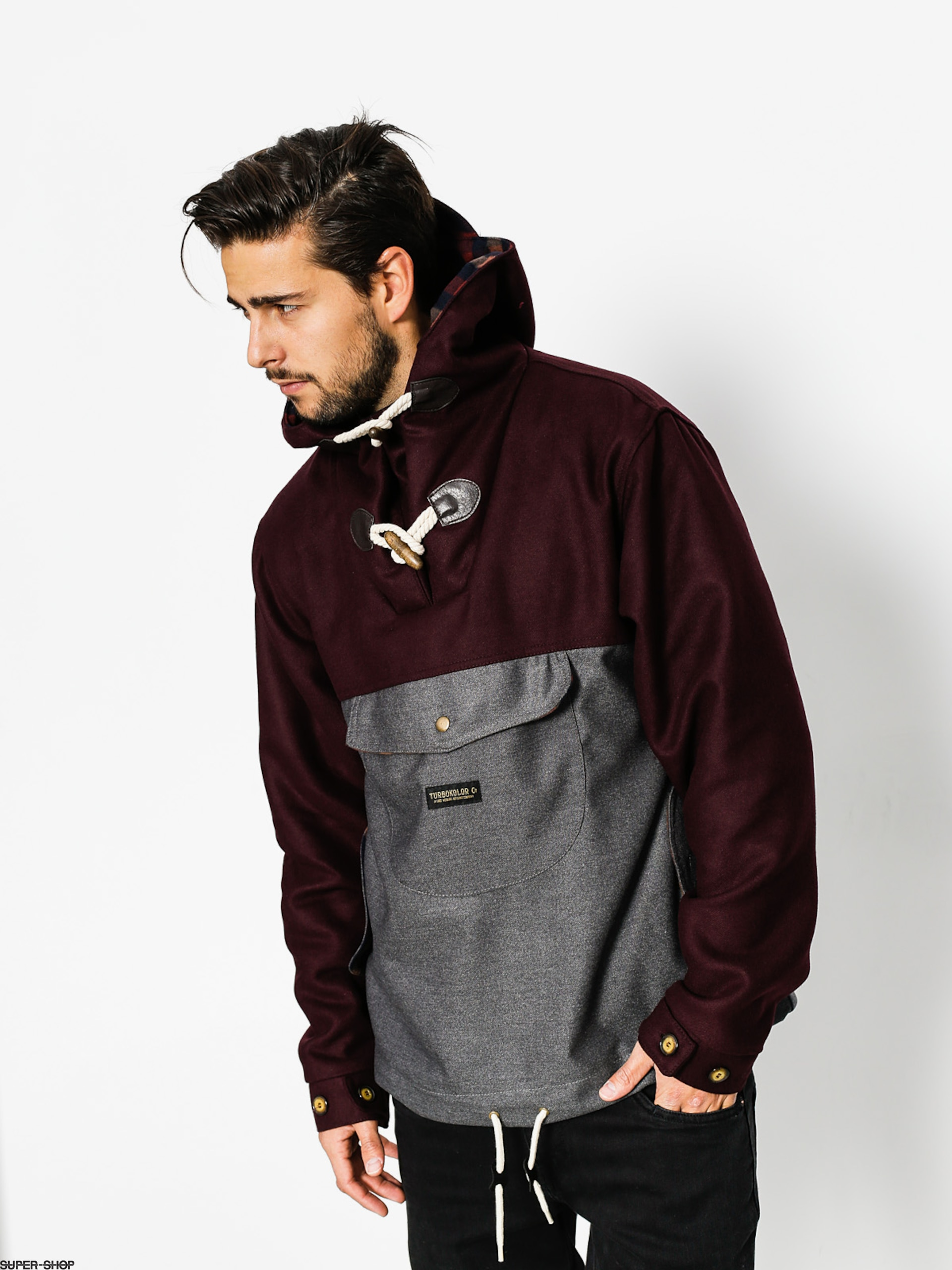 Turbokolor Jacket Freitag (brown grey)