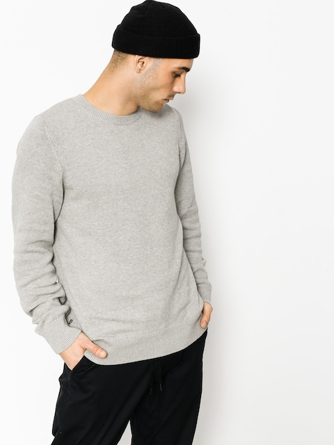 Nike SB Sweater Sb Everett Crew (dk grey heather/dark steel grey)