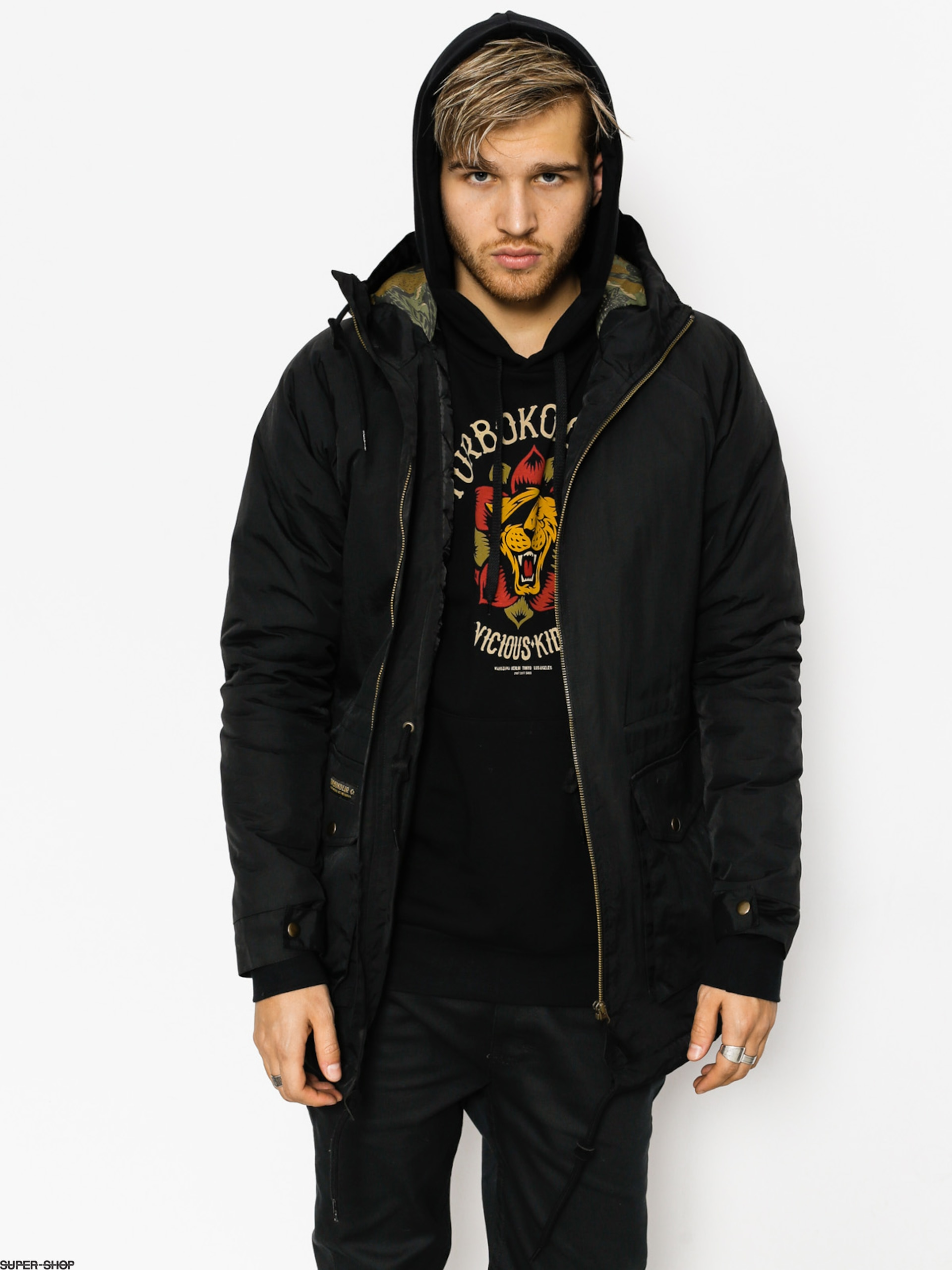 Turbokolor Jacket Parka (black)