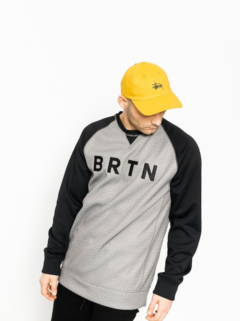 Burton Bonded Crew (monument heather) Sweatshirt
