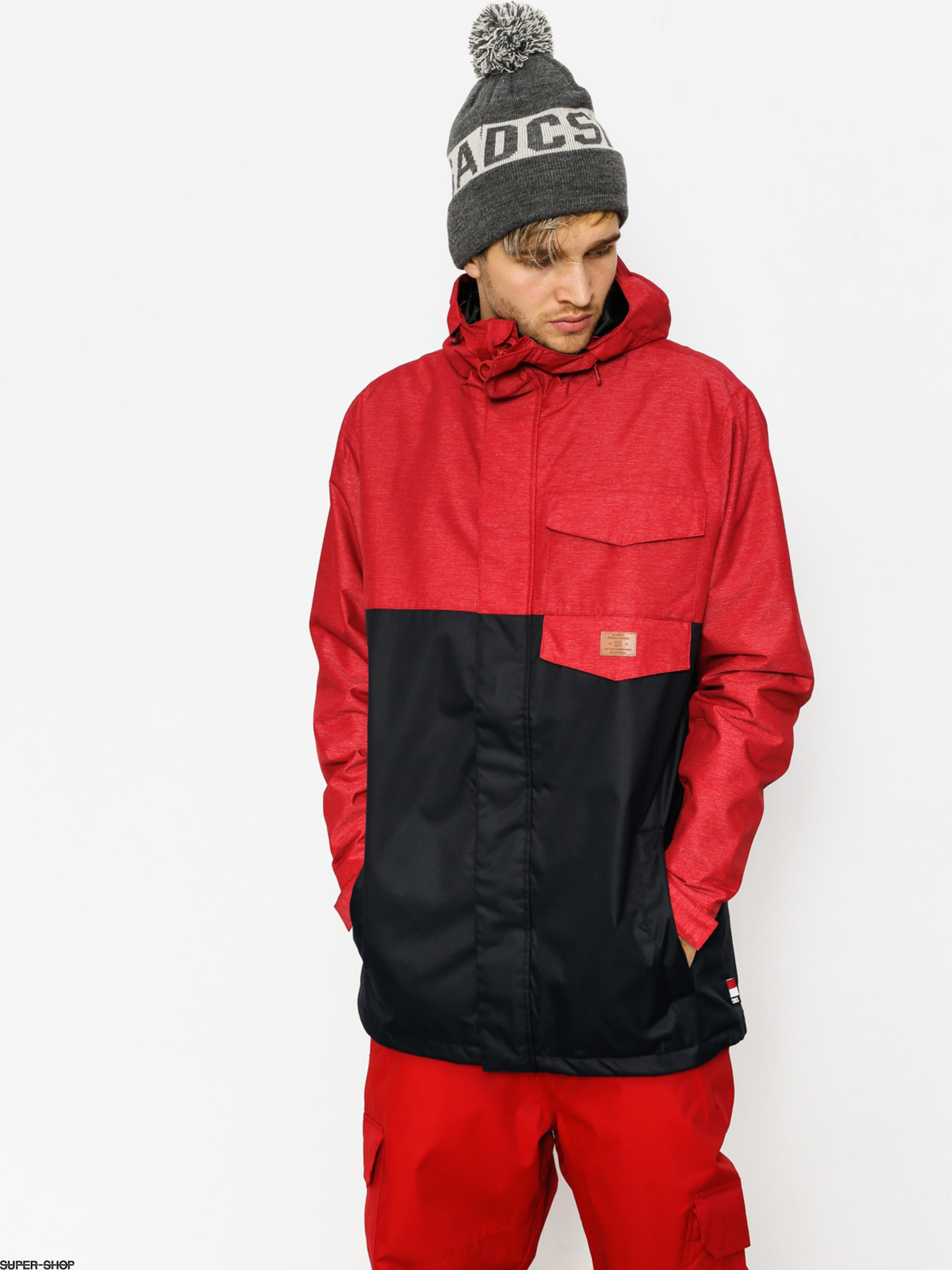 DC Snowboardjacke Merchant (chili pepper)