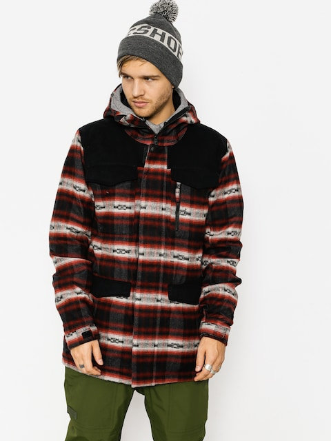 Burton Snowboard jacket Covert (fired brick azrek)