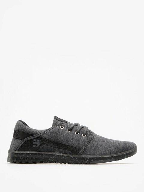 Etnies Shoes Scout (black/grey/silver)