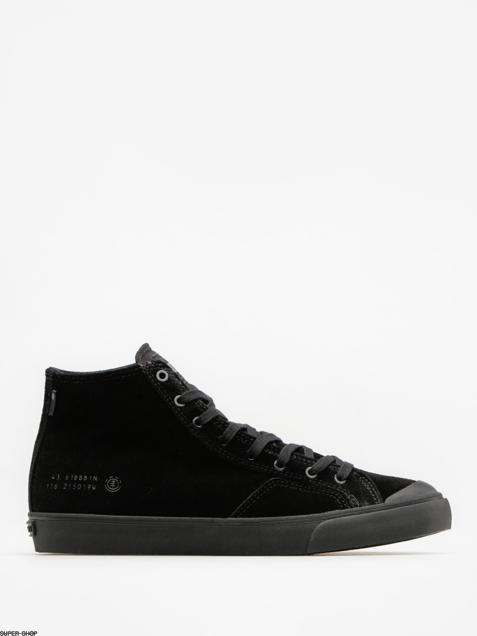 Element Shoes Spike Mid (black out)