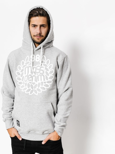 MassDnm Hoodie Base HD (light heather grey)