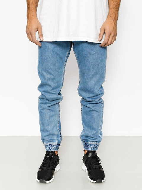 MassDnm Hose Base Joggers Jeans (light blue)
