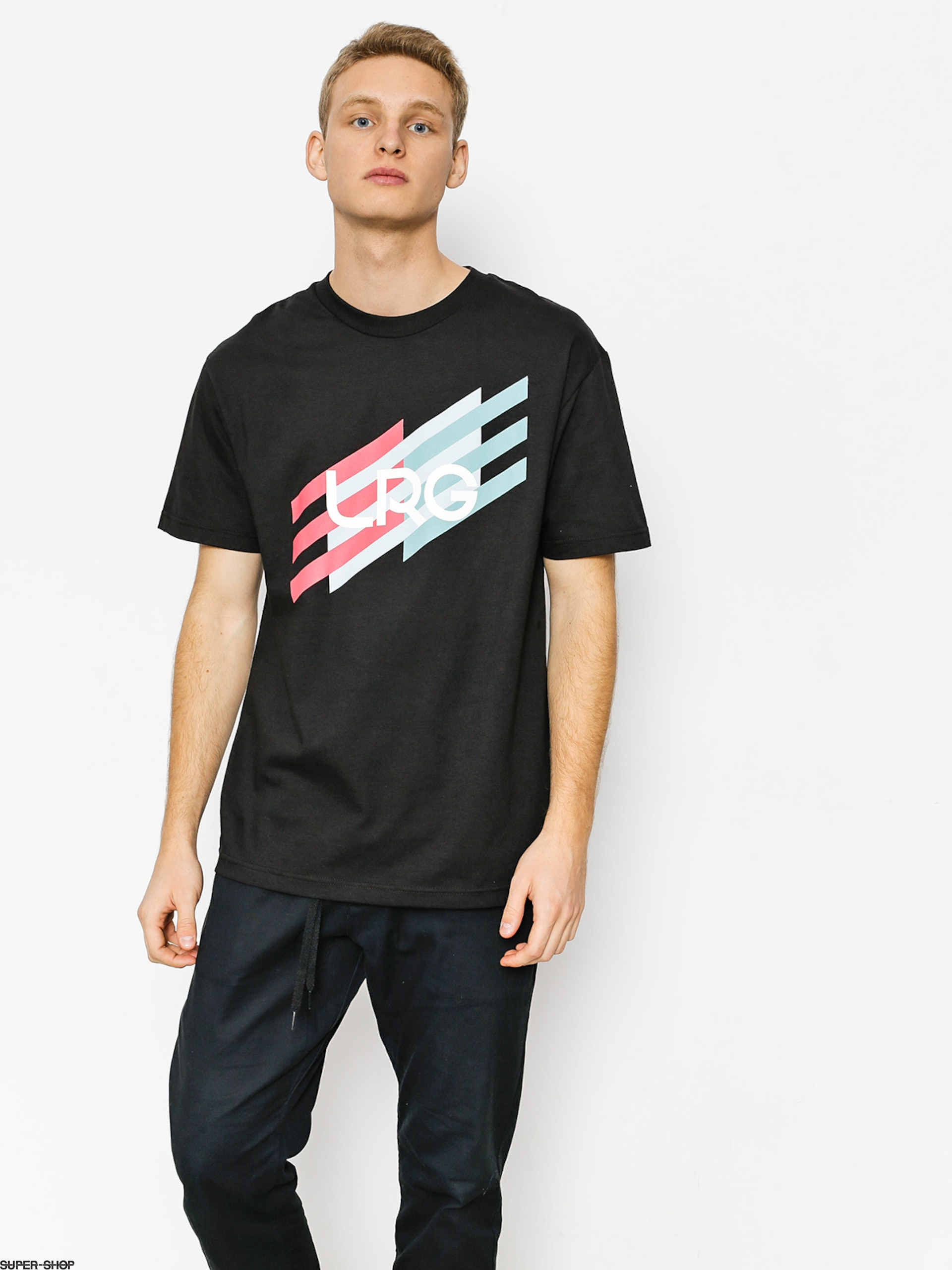 LRG T-shirt Ascending Stripes