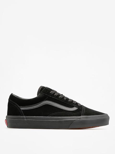 Vans Shoes Old Skool (suede/black/black/black)