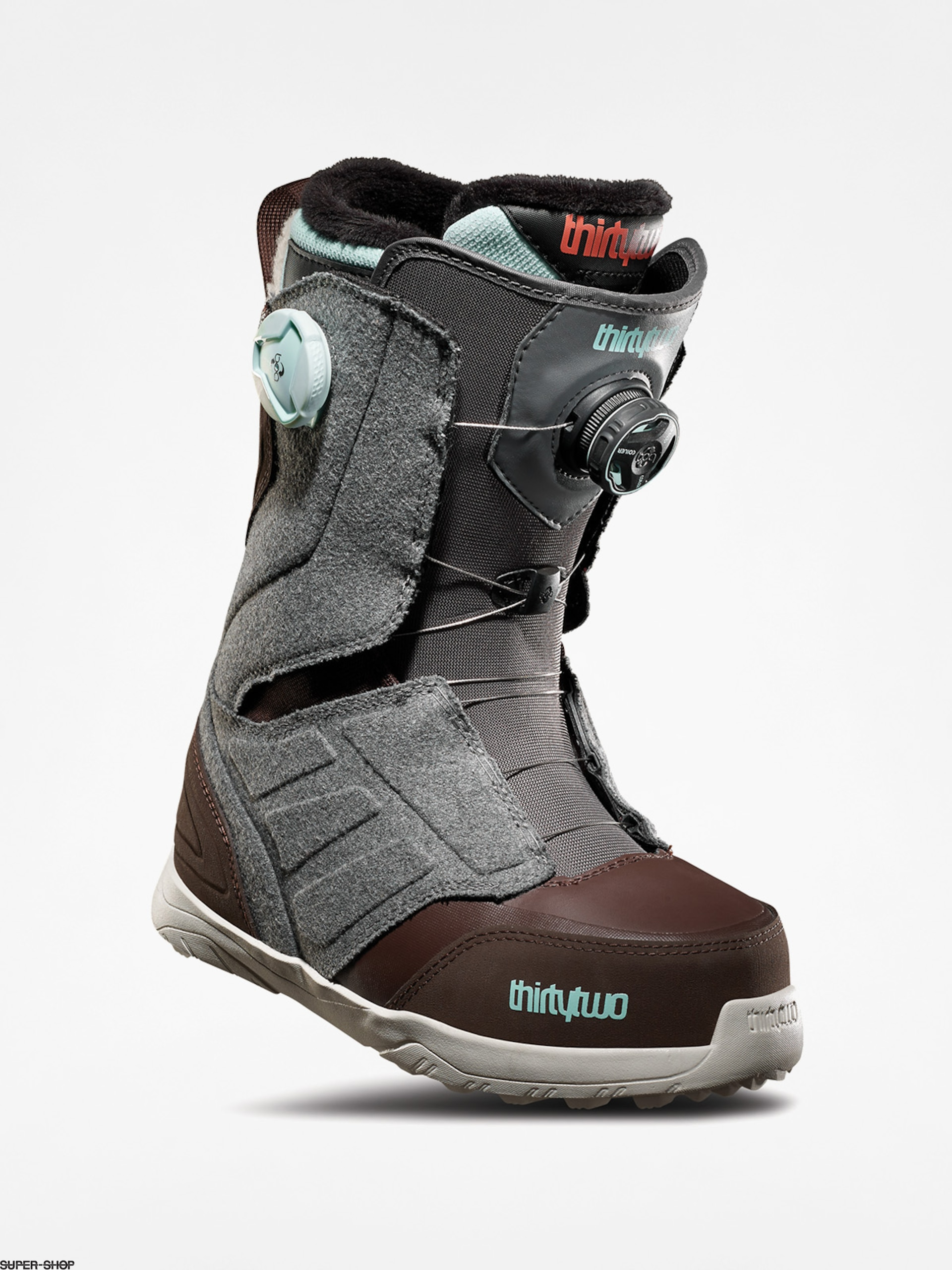 ThirtyTwo Snowboard boots Lashed Double Boa Wmn (grey/brown)