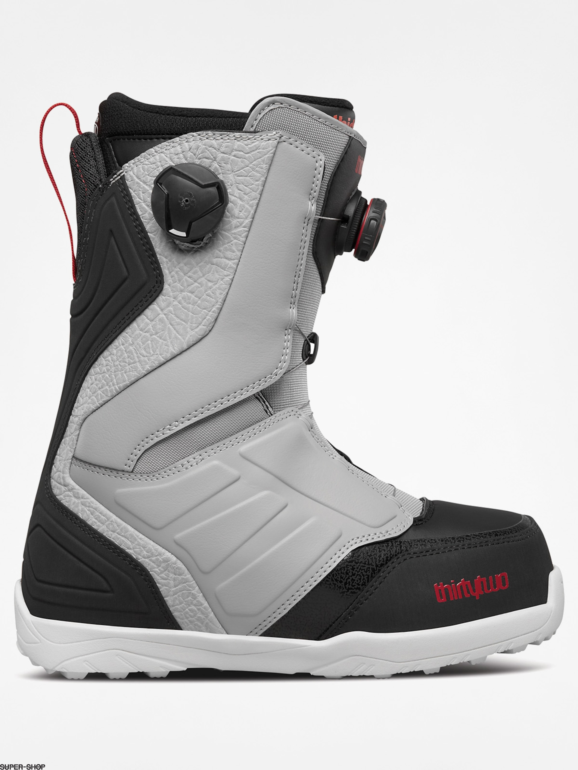 ThirtyTwo Snowboard boots Lashed Double Boa (grey/black/red)