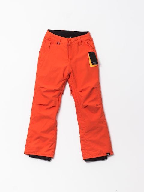Quiksilver Snowboardhose Estate (mandarin red)