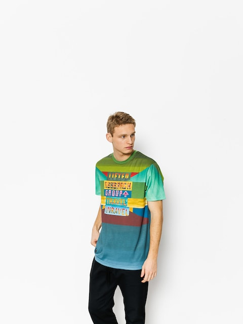 LRG T-shirt Travel Unravel (willow)
